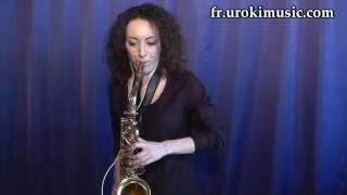 Cours de Saxophone Adele Skyfall - Cover Partitions Mélodie Сhansons Tuto Comment Jouer Tab