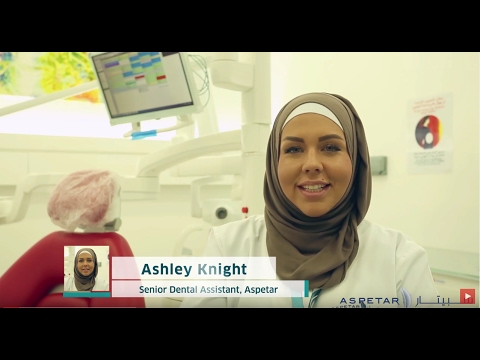 Aspetar Pioneers staff - Ashley Knight, Senior Dental Assistant