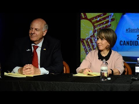 Pearce, Lujan Grisham answer questions about government transparency