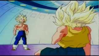 Vegeta Surprised! Trunks, A Super Saiyan!?