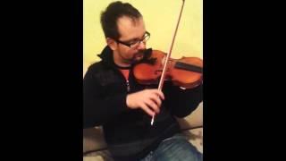 Parasztkantáta hegedű cover 16 év után