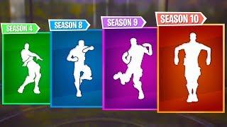 Top 5 Best Fortnite Dances of Every Season   Season 1-10