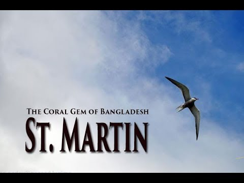 St. Martin, the Coral island of Bangladesh. (best youtube movie)