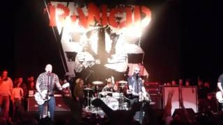 Rancid - Time Bomb live @ The Warfield, SF - January 2, 2016