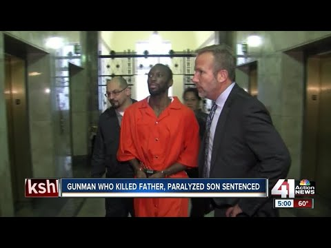 Man sentenced for killing man, paralyzing boy