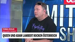 Queen und Adam Lambert rocken Österreich
