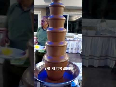 Chocolate Fountain Wedding Marriage Service #Chennai #Bangalore