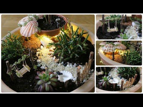 Fairy Garden #10 * DIY * Minigarten im Topf
