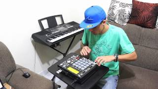 "DJ Rafinha MPC "" Pumba La Bumba "" AKAI MPC 1000"