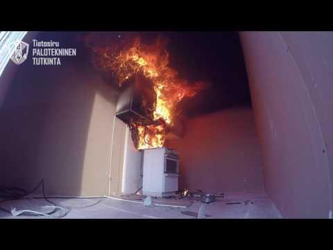 If: Liesituuletinpalo voi syttyä hetkessä