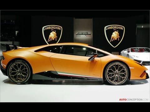 Car Design: 2017 Lamborghini Huracán Performante (Reveal)