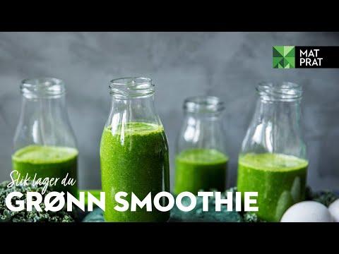 Grønn smoothie   MatPrat