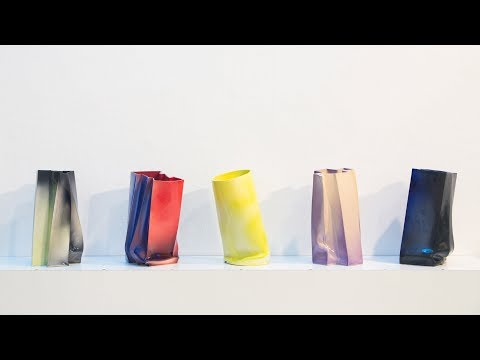 RCA graduate presents vases and furniture pieces that are partly accidental in design