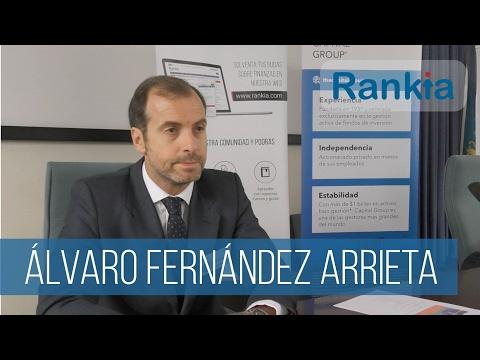 Álvaro Fernández Arrieta, Director de Distribución Iberia en Capital Group nos habla de cómo afecta la inflación a la renta variable y fija, de como valoran los Blue Chips, de la selección de valores y la cartera, y de como se prepararan para el 2017 y los eventos geopolíticos. También nos explica qué es el Indicador Drawdown.