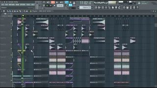 Dimitri Vegas,Like Mike & Steve Aoki vs Ummet Ozcan - Melody ! FL Studio Full Remake ! FLP