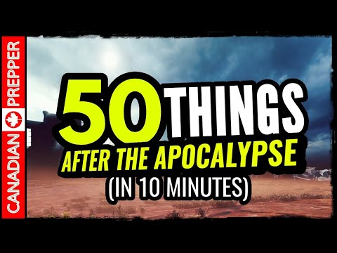 50 Things That Will Happen After The Apocalypse!