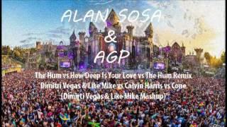 The Hum vs How Deep Is Your Love - DV&LM vs Calvin Harris vs Coone (DV&LM Masuhp)