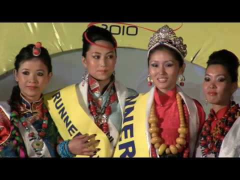 crowning of miss tibet 2010 winner