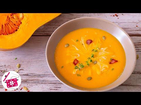 5 Минут и ГОТОВО! ОБАЛДЕННЫЙ БАРХАТНЫЙ Крем — Суп из ТЫКВЫ! Готовим Дома ТЫКВЕННЫЙ СУП