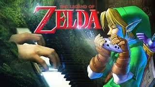 Zelda's Lullaby - The Legend of Zelda Ocarina of Time (Piano Cover + EASY PIANO SHEET for Beginners)