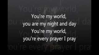 You're My World (Tom Jones) Videoke / Karaoke