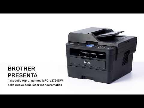 Brother MFC-L2750DW - Stampante multifunzione laser con WiFi