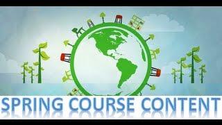 Spring Framework Tutorial Course Content