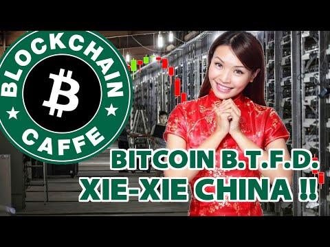 XieXie China & BTFD  |  Blockchain Caffè