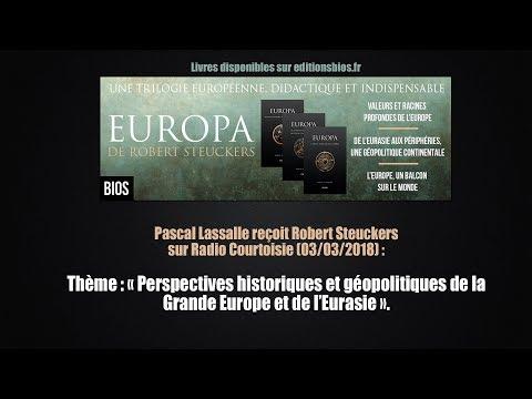 nouvel ordre mondial | Robert Steuckers sur Radio Courtoisie : Géopolitiques de la Grande Europe
