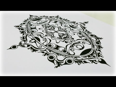 Zentangle Inspired Art  #37