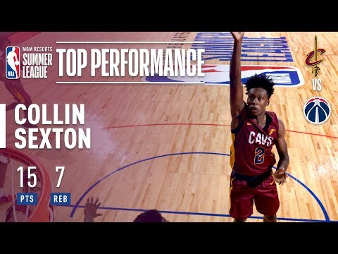 Collin Sexton Puts Up 15pts, 7rebs In 2018 MGM Resorts Las Vegas Summer League Debut