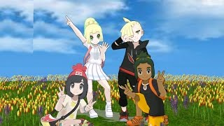 Hau Lillie Gladion Moon- Happiness (MMD)