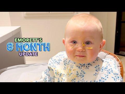 Emorett's 8 Month Update!