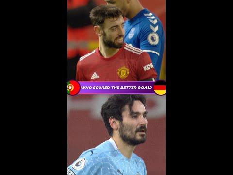 Who scored the better goal? | Portugal v Germany | Fernandes v Gündoğan | Euro 2020