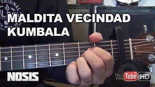 Maldita Vecindad - Kumbala en Guitarra (Tutorial HD)