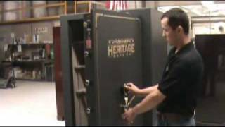 Heritage Safe Company - Changing S&G Lock Combination - YouTube
