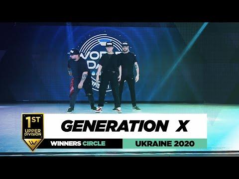 Generation X | 1st Place Upper | Winners Circle | World of Dance Ukraine 2020 | #WODUA20