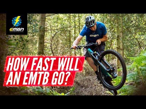 How Fast Can You Ride On An E Mountain Bike? | EMTB Vs Mountain Bike
