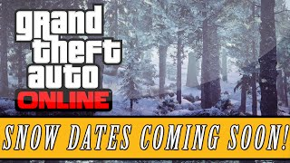 GTA 5: Online | Los Santos Snowfall Returning Soon?! - Future Snow Dates Revealed?! (Festive DLC)