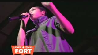 Common & Erykah Badu Rap To The Light with Kanye West @ The Levi's® FADER Fort 2009