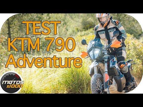 Presentación KTM 790 Adventure