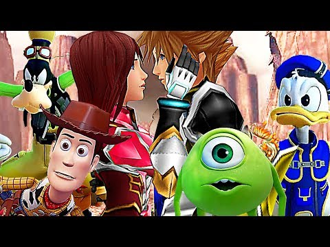KINGDOM HEARTS 3 Monsters Inc Gameplay Trailer (2018)