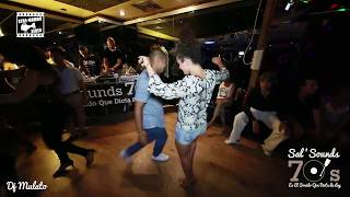 Tom & Naj Art - social dancing @ Sal'Sounds 70's