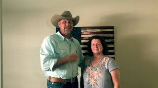 Mary Gets This Cowboy's Hat - American Sheriff Foundation