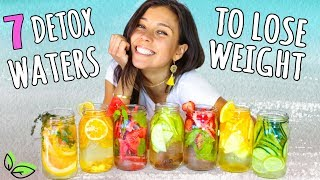 7 DETOX WATERS FOR WEIGHT LOSS!💦Rawvana