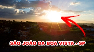 🔴 (DRONE) Parte do Pôr do Sol Solario da Mantiqueira - São João da Boa Vista - SP