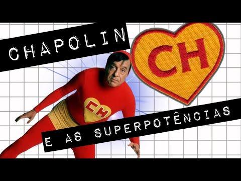 CHAPOLIN E AS SUPERPOTÊNCIAS