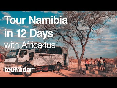 Tour Namibia in 12 Days with Africa4us