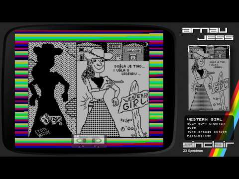 WESTERN GIRL Zx Spectrum by Suzy Soft