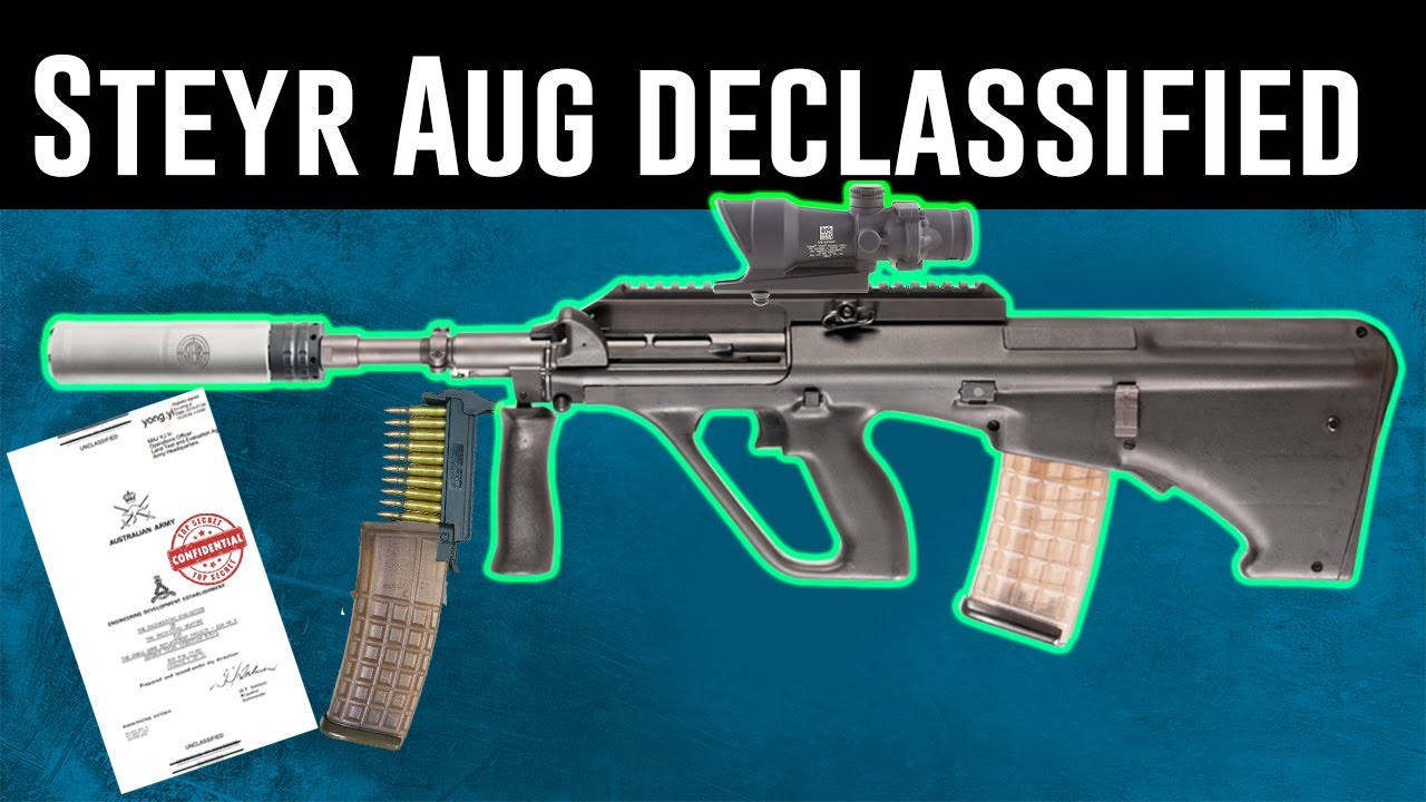 Why the Aussies chose the Steyr AUG Bullpup